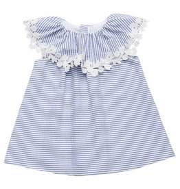 FINA EJERIQUE Blue & White Dress