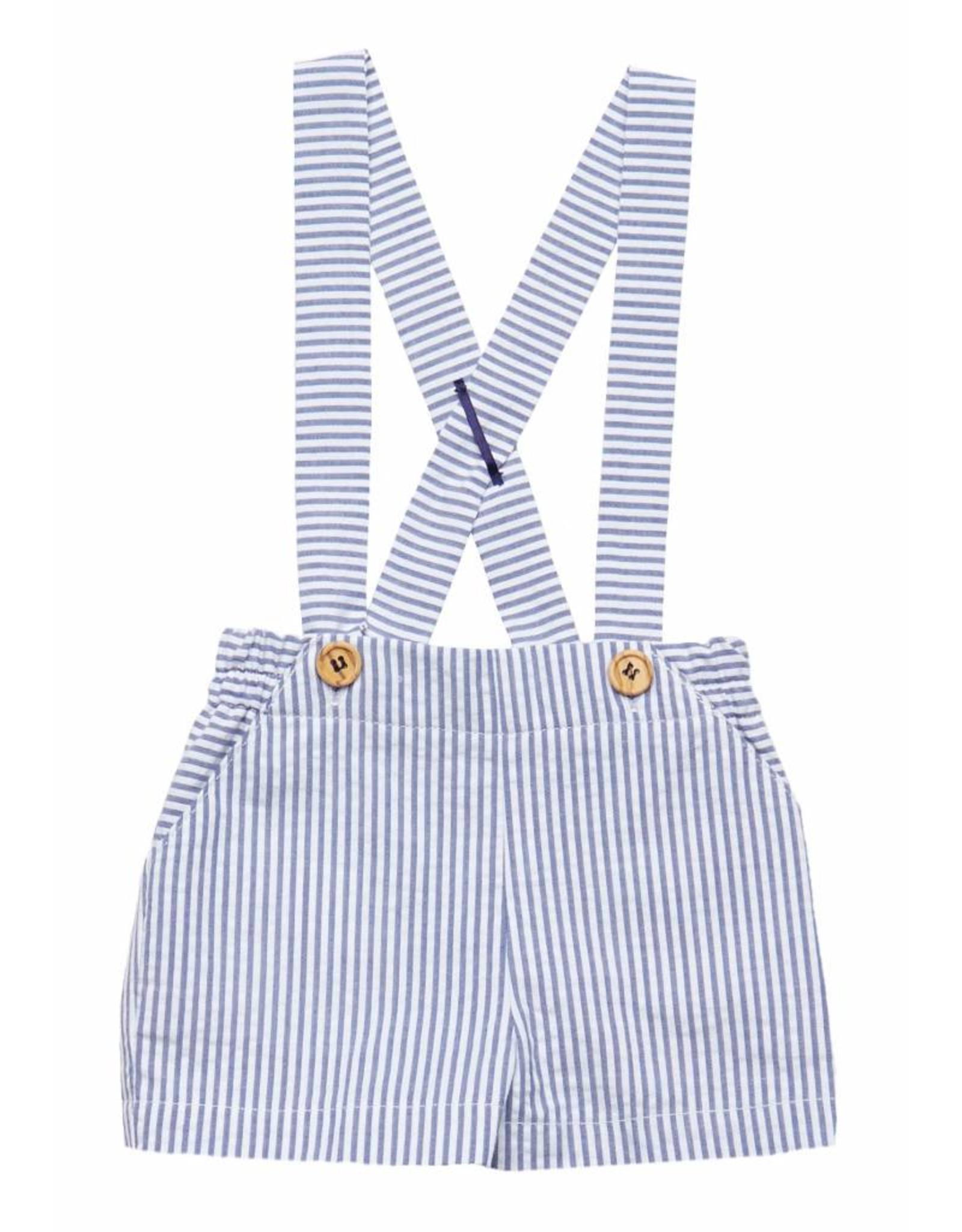 FINA EJERIQUE Blue & White Shorts