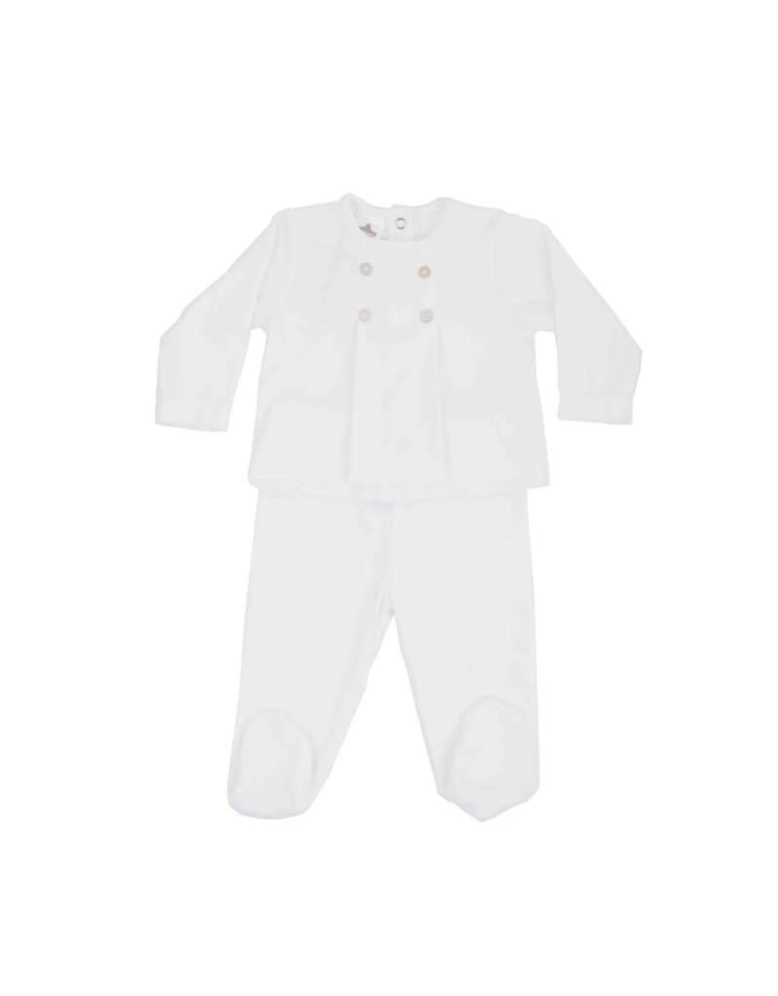 MINHON White Baby Set