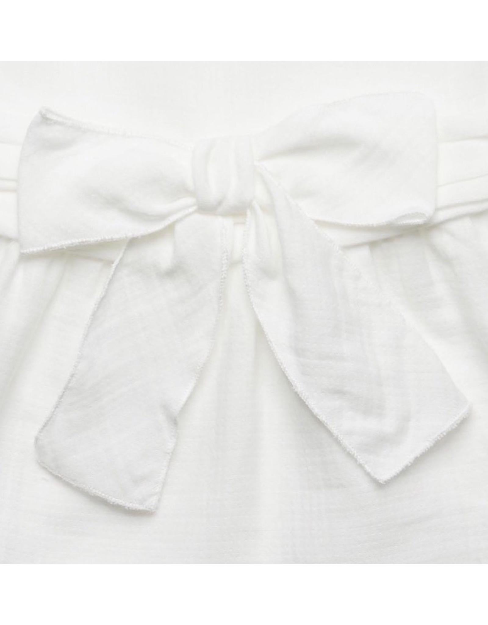 FINA EJERIQUE White Bow Blouse