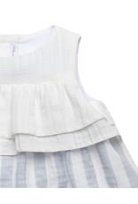 FINA EJERIQUE Grey Stripe Dress