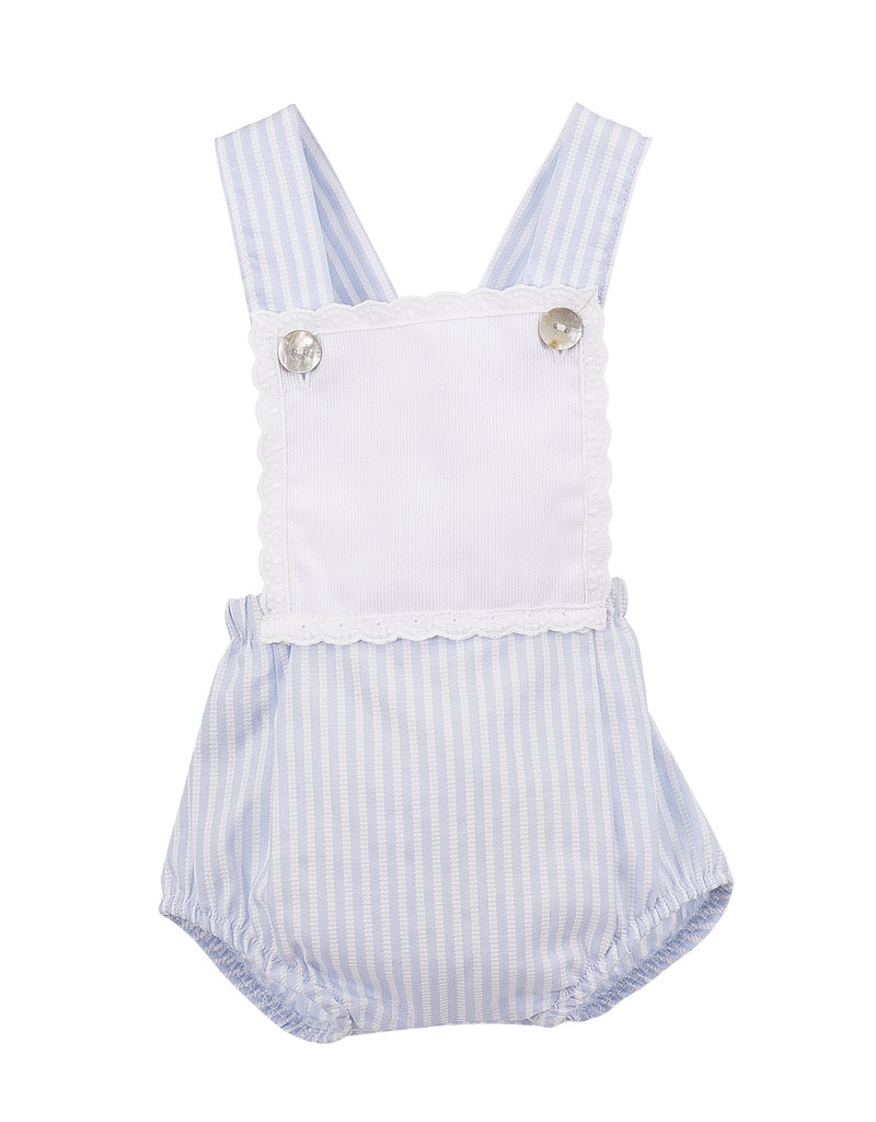 321c3c216 Blue Candy Stripe Romper - Devoted Touch