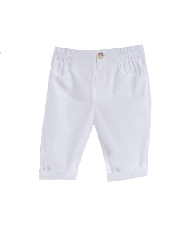 FINA EJERIQUE Boys White Trousers