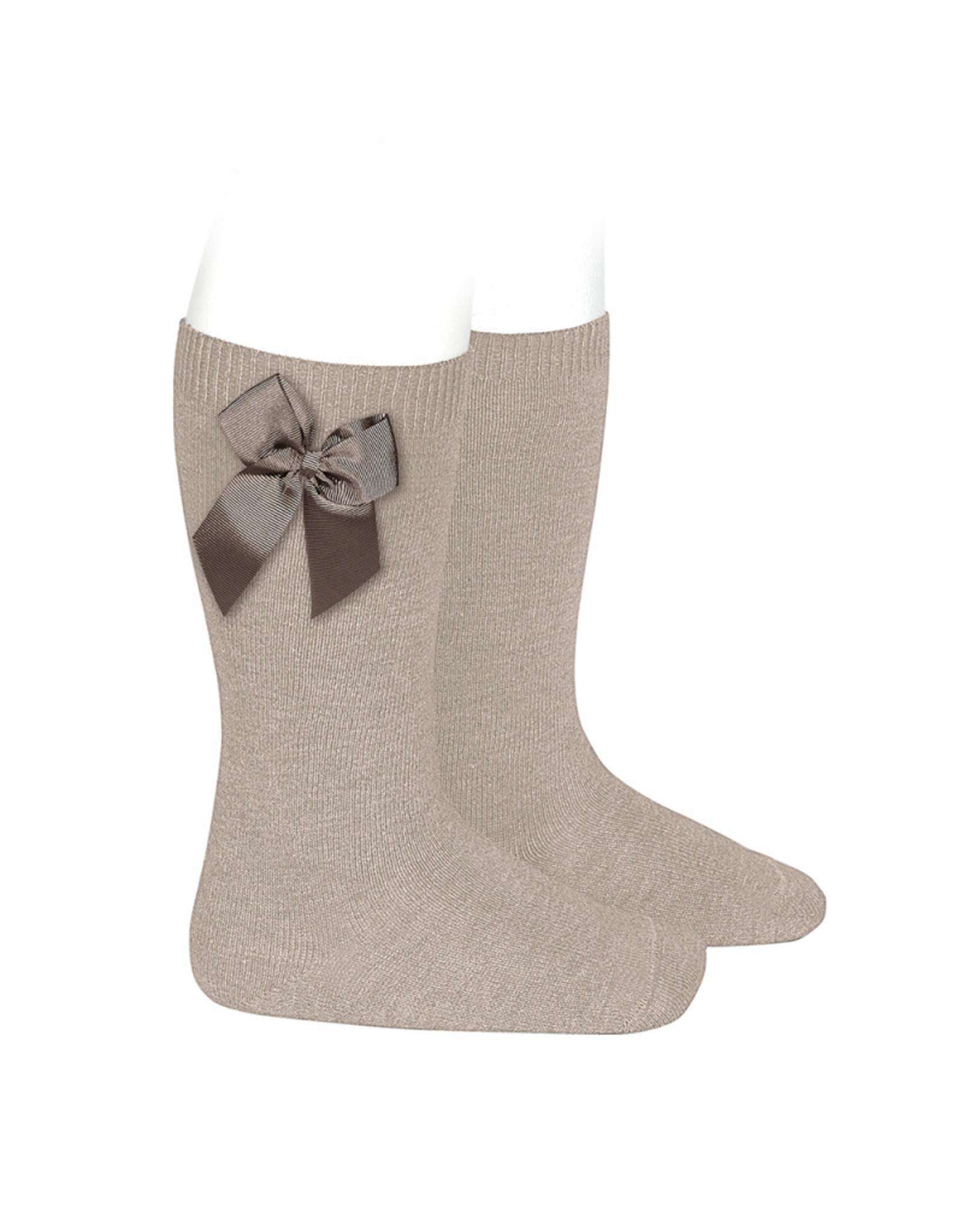 CONDOR Stone Knee Socks with Bow