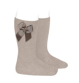 CONDOR Stone Knee-High Socks with Bow
