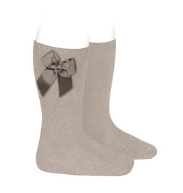 CONDOR Stone Knee Socks with Bow