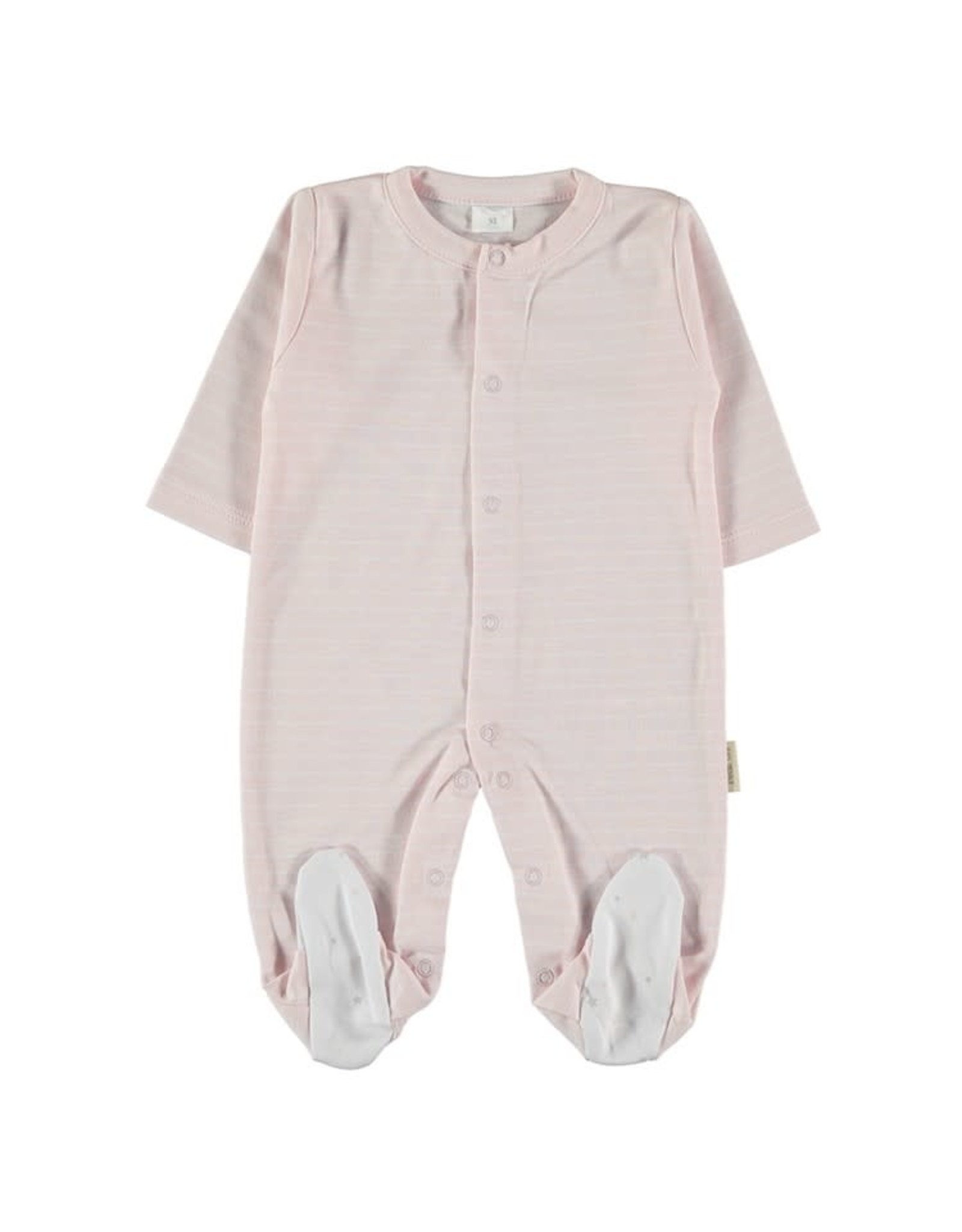 PETIT OH! Pink Stripe Sleeper