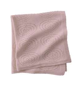 KIDS CONCEPT Pink Cotton Blanket