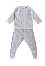 Blue & White Baby Set