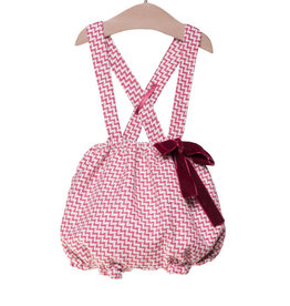 FINA EJERIQUE Red Chevron Bloomers