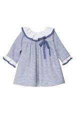 FINA EJERIQUE Dusty Blue Dress