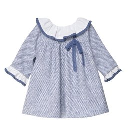 FINA EJERIQUE Dusty Blue Dress
