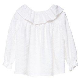 FINA EJERIQUE Girls White Blouse