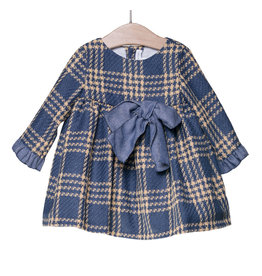 FINA EJERIQUE Check Dress with Bow