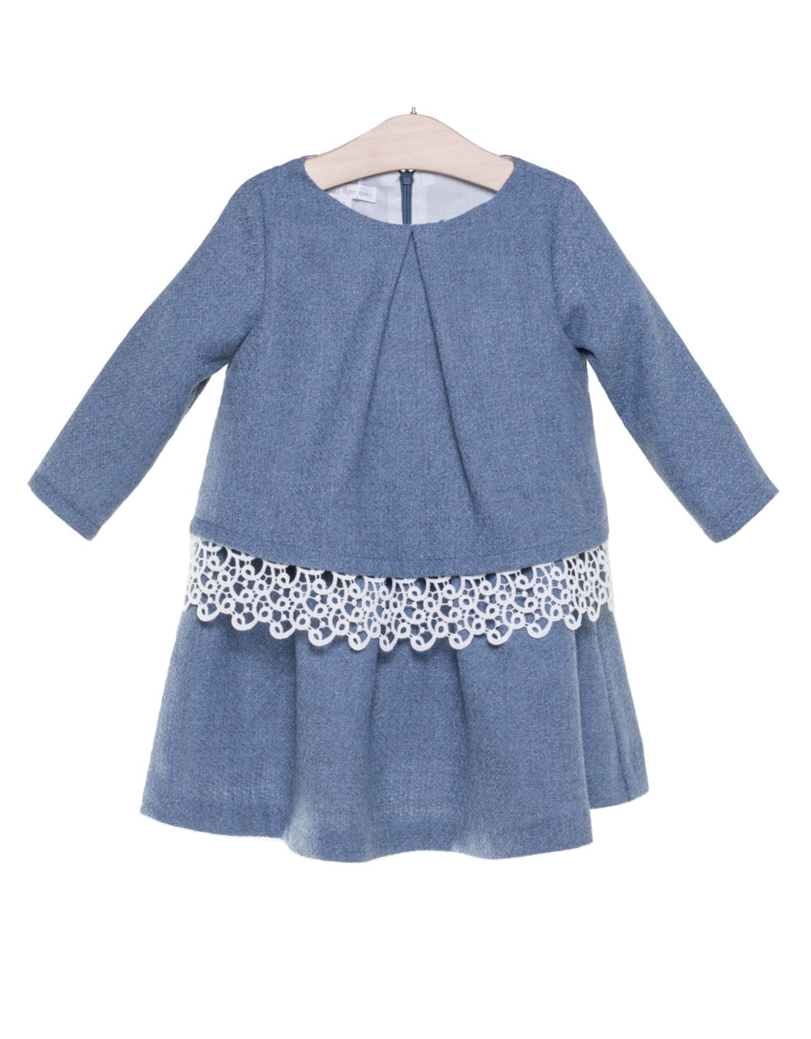 FINA EJERIQUE Girls Blue Dress