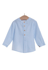 FINA EJERIQUE Blue Striped Boys Shirt
