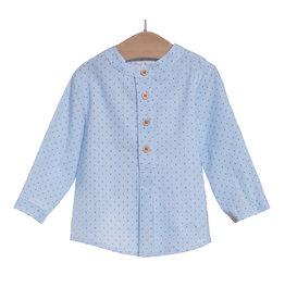 FINA EJERIQUE Blue Striped Boys Shirt