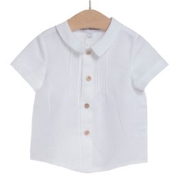 FINA EJERIQUE Boys Short Sleeve White Shirt