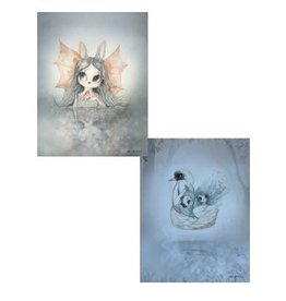 MRS MIGHETTO Miss Bianca & Swan Lake 2 Pack