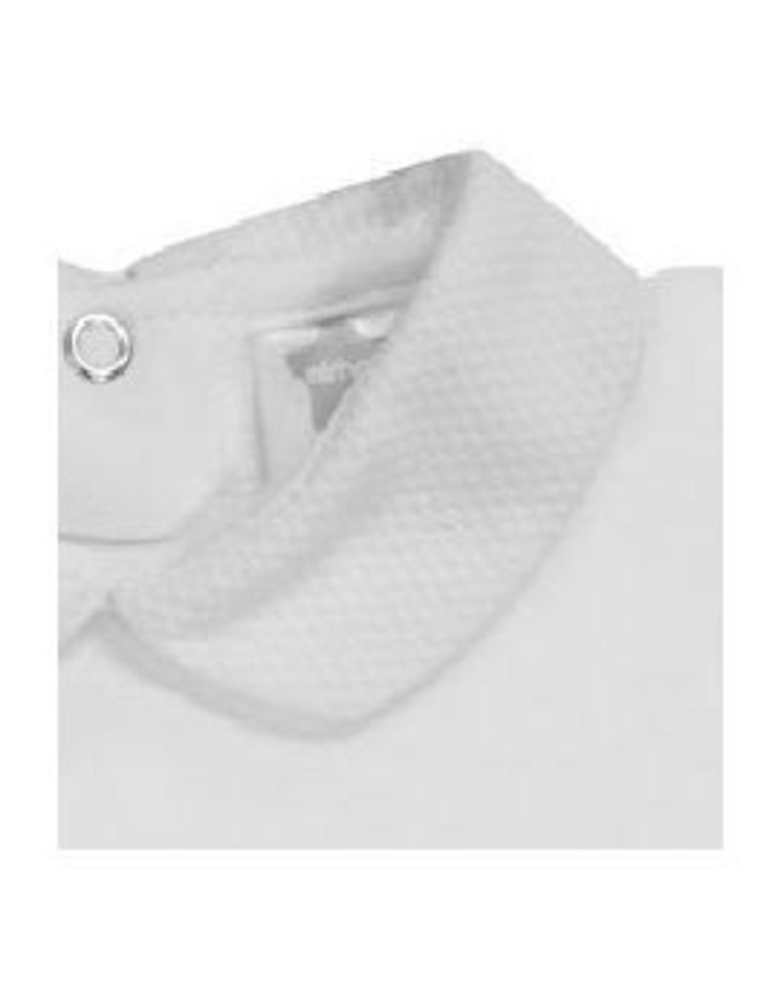 MINHON White Pique Collar Bodyvest
