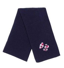 MINHON Navy Teddy Blanket