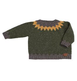 FINA EJERIQUE Dark Green Sweater