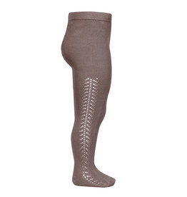 CONDOR Praline Side Openwork Tights