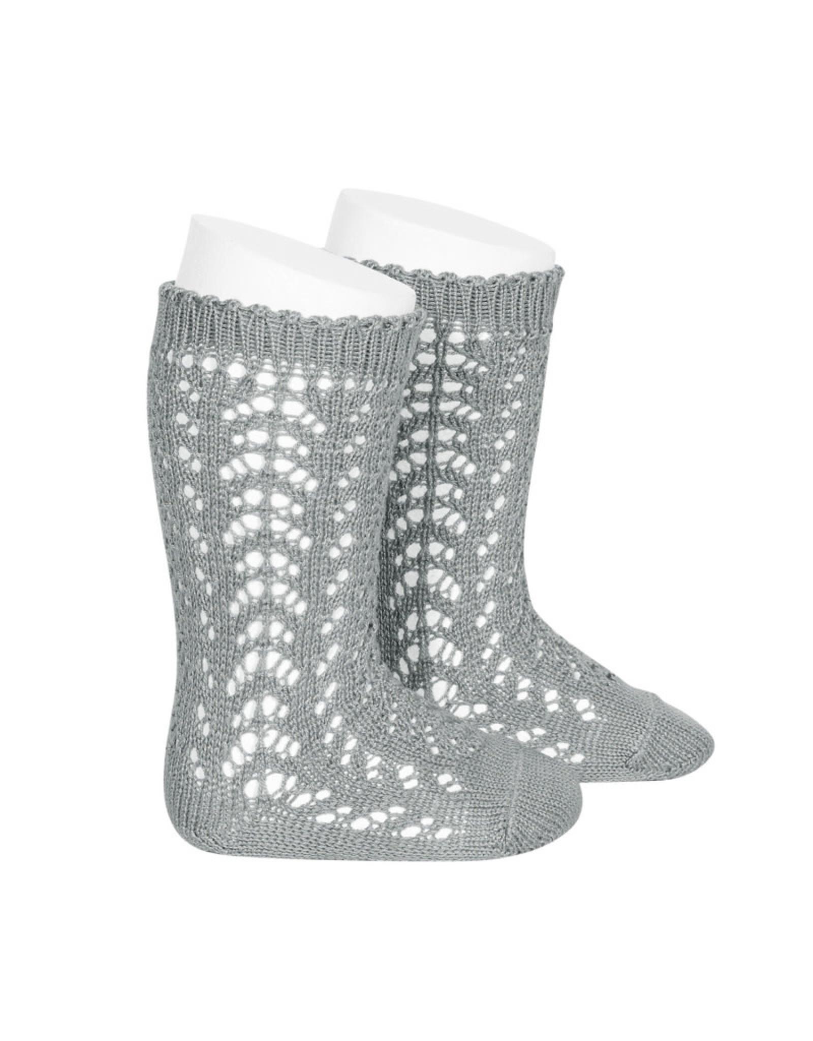 CONDOR Dry Green Openwork Knee Socks