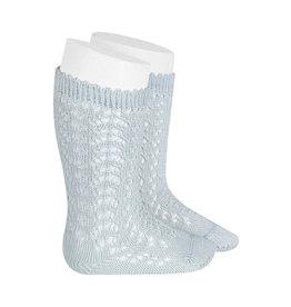 CONDOR Pearly Openwork Knee Socks