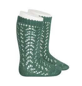 CONDOR Cedar Openwork Socks
