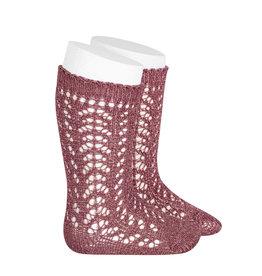 CONDOR Tamarisk Metallic Openwork Socks
