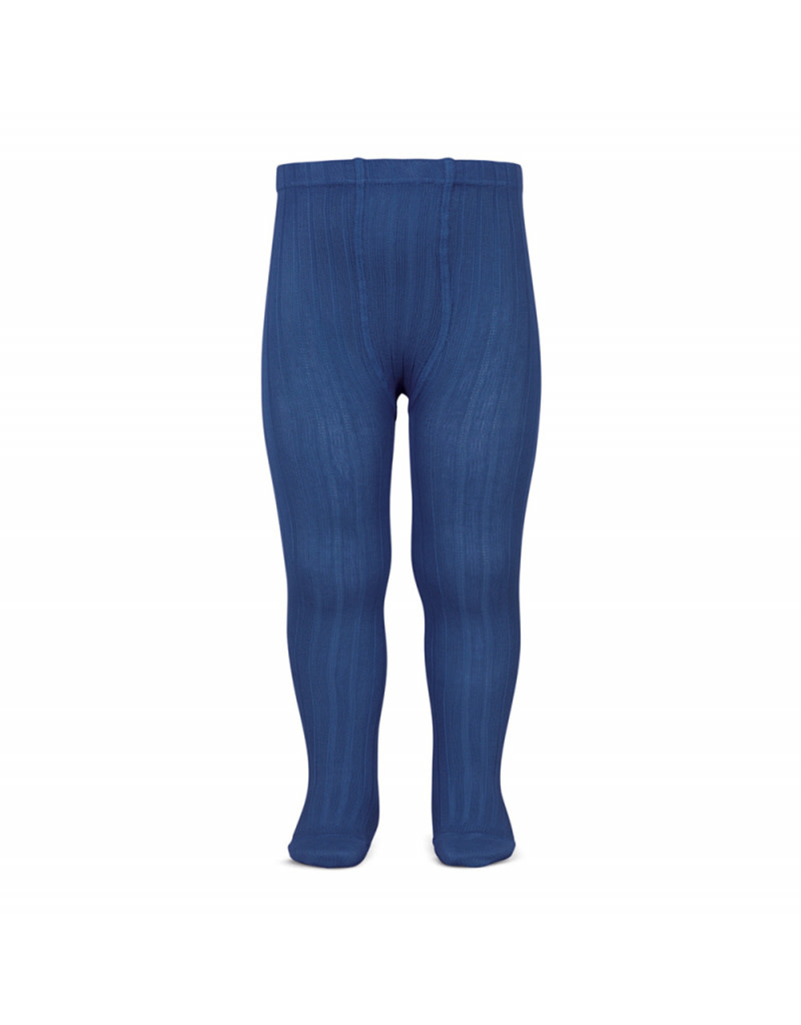 CONDOR Indigo Blue Rib Tights