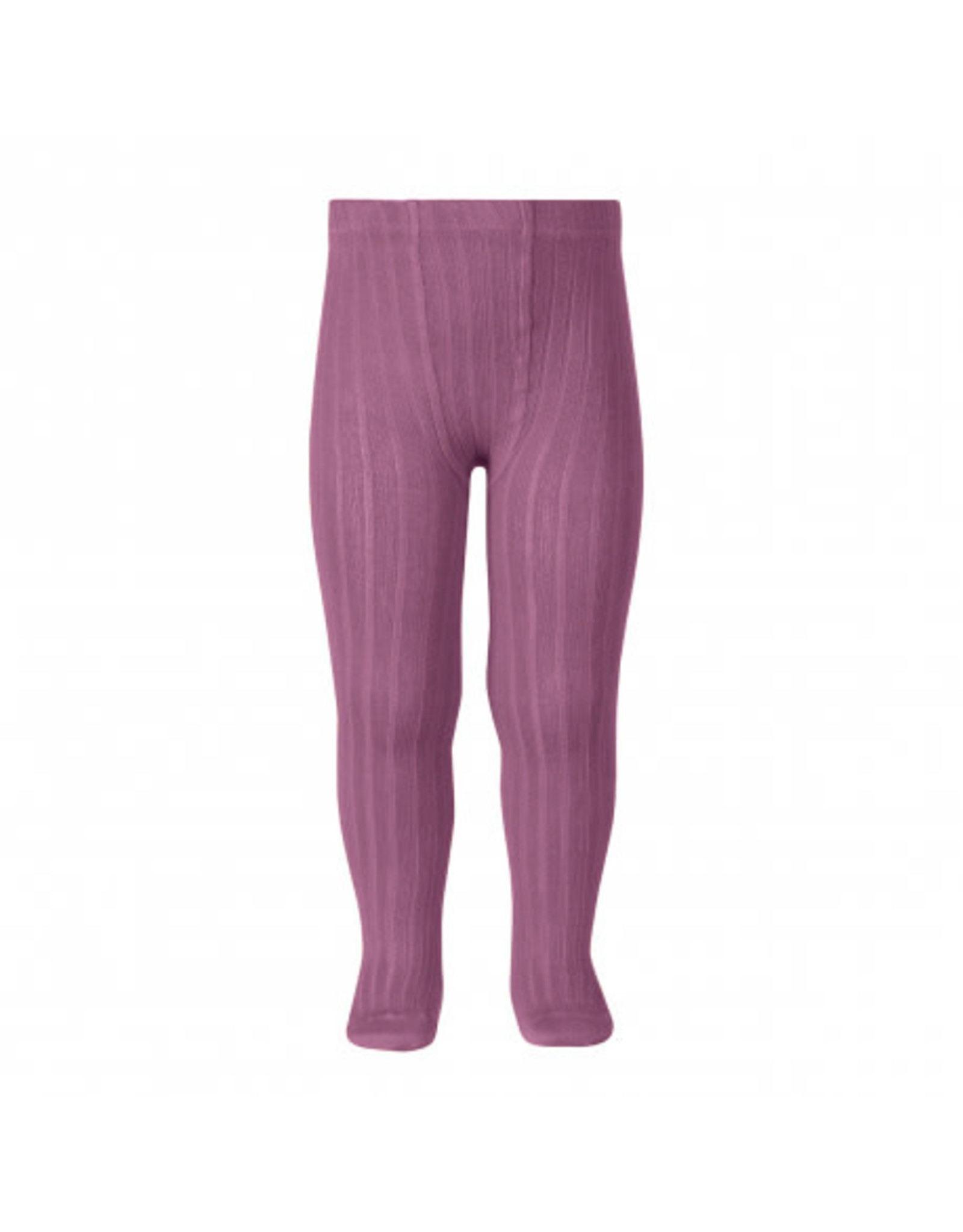 CONDOR Cassis Ribbed Tights