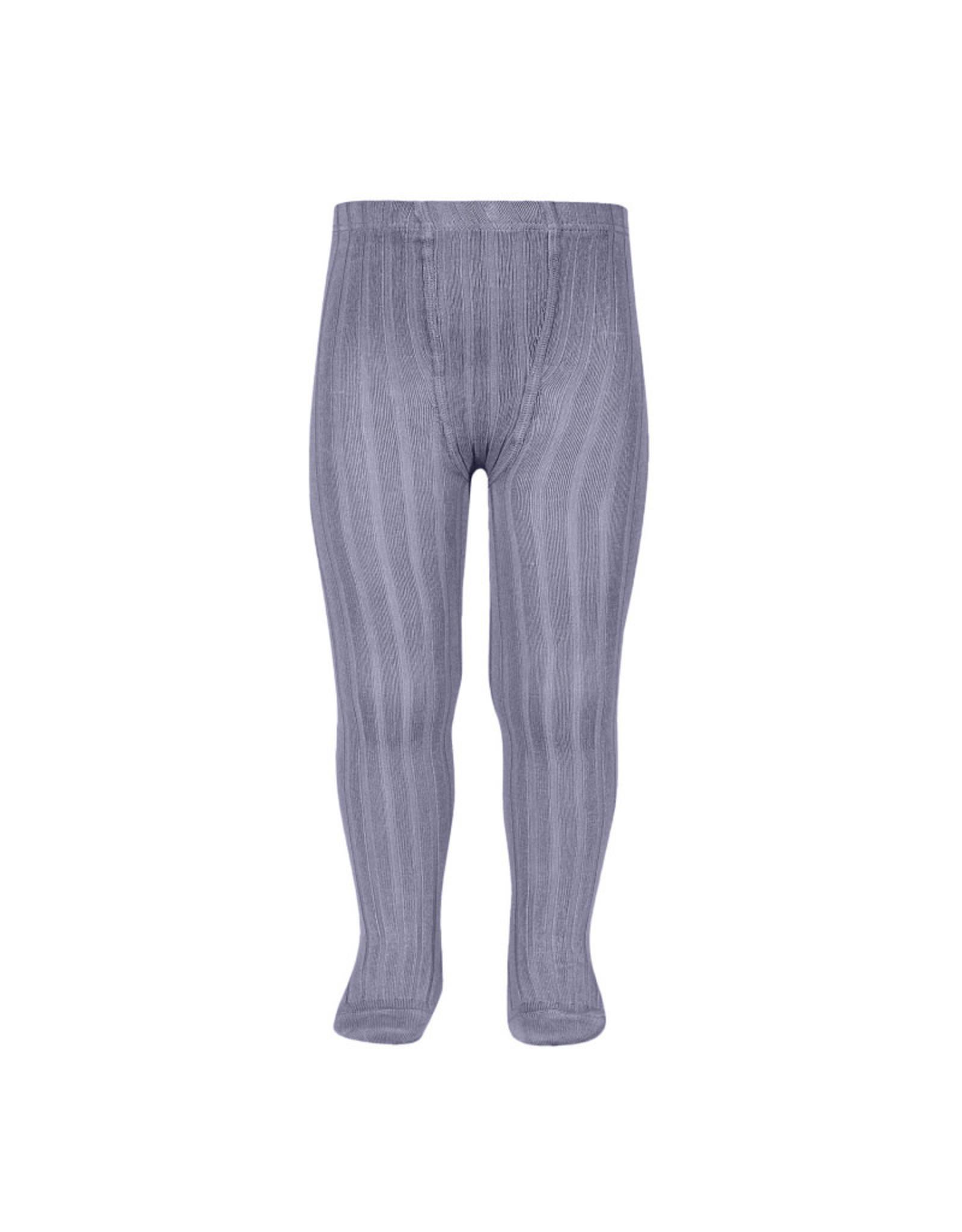 CONDOR Lavender Rib Tights