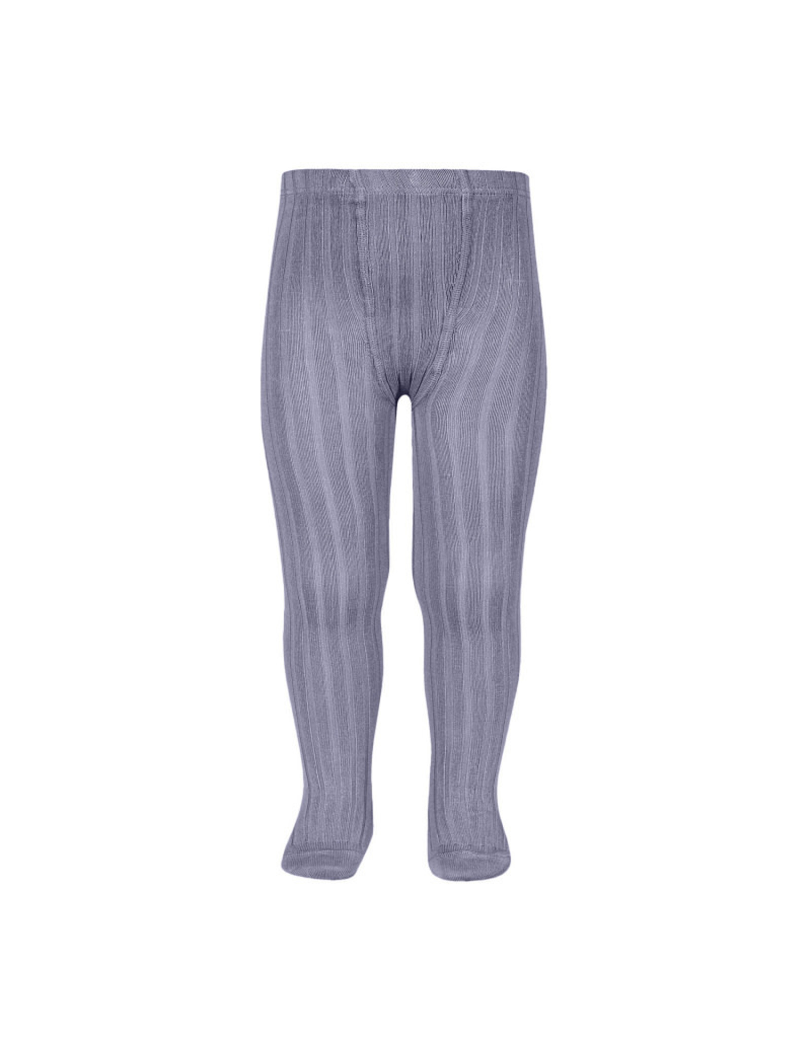 CONDOR Lavender Ribbed Tights