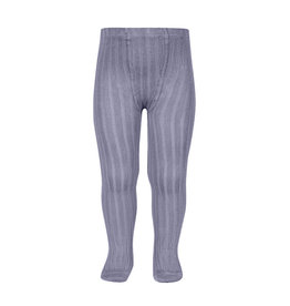 CONDOR Lavender Rib Tights
