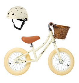 Banwood BANWOOD Cream Bundle Bonton Edition Balance Bike