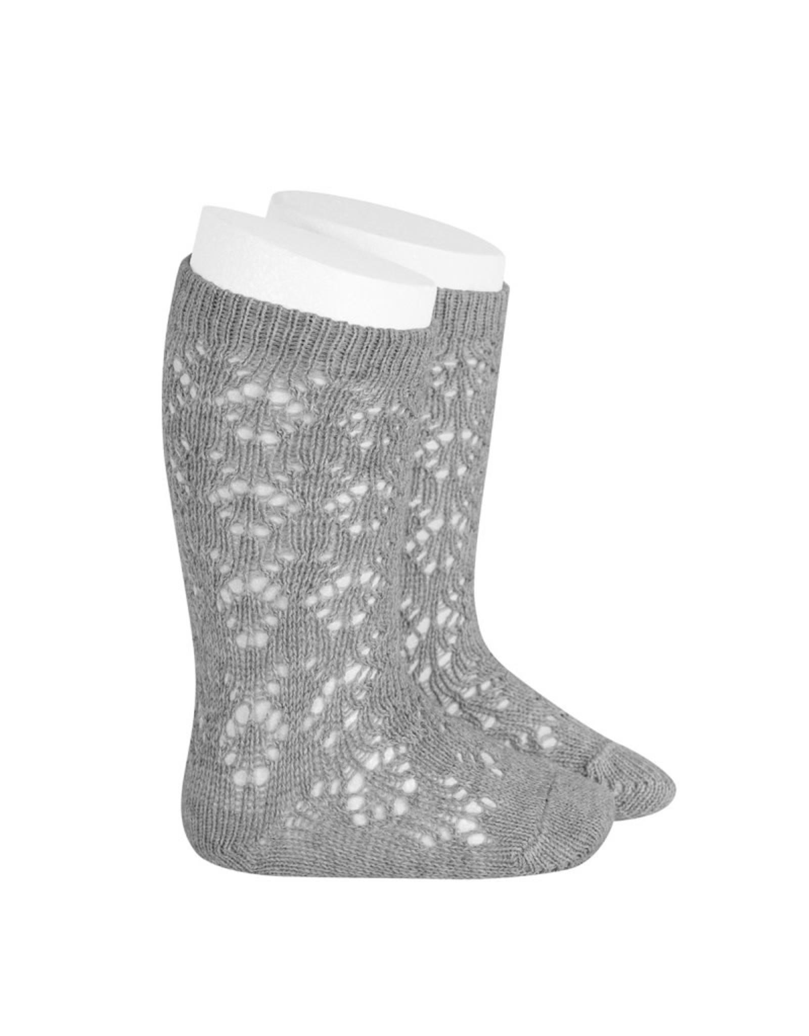 CONDOR Aluminium Geometric Openwork Socks