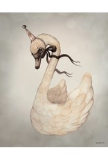 MRS MIGHETTO Miss Swan 40x50