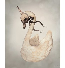 MRS MIGHETTO Dear Swan 40x50