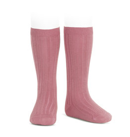 CONDOR Tamarisk Rib Knee High Socks