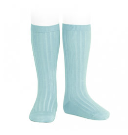 CONDOR Ice Ribbed Knee Socks