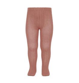 CONDOR Terracotta Rib Tights