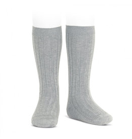 CONDOR Aluminium Ribbed Knee Socks