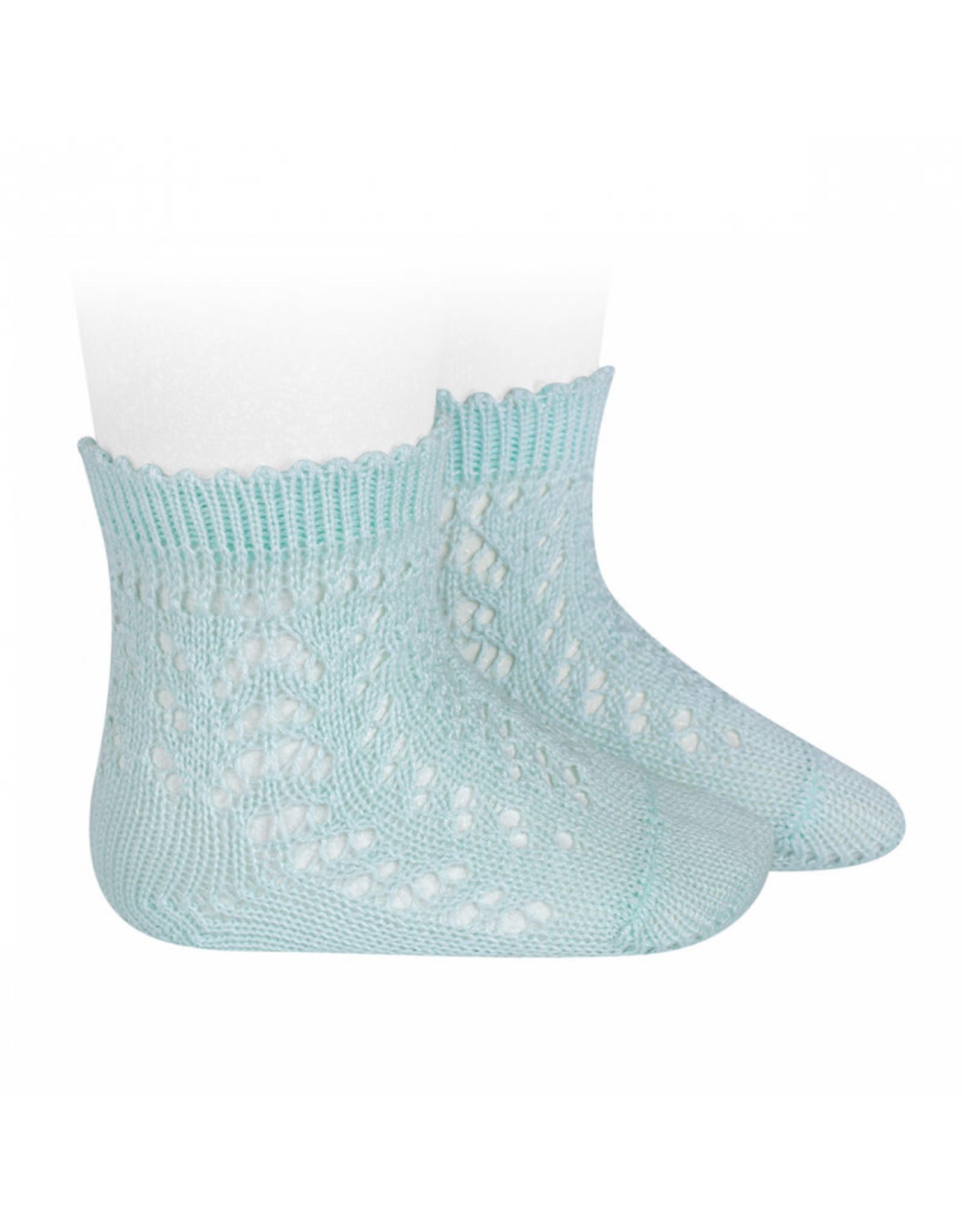 CONDOR Aquamarine Openwork Short Socks