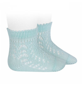 CONDOR Aquamarine Openwork Short Socks