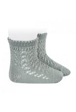 CONDOR Dry Green Openwork Short Socks