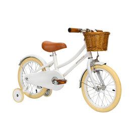 BANWOOD White Classic Pedal Bike