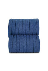 CONDOR Indigo Blue Ribbed Tights