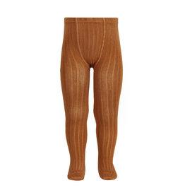 CONDOR Cinnamon Ribbed Tights